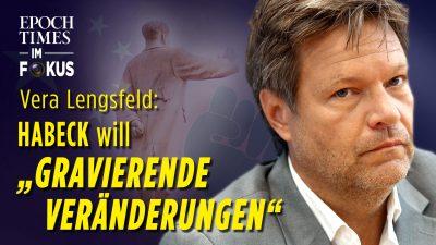 Vera Lengsfeld: Habeck will chinesische Verhältnisse in Deutschland | ET im Fokus