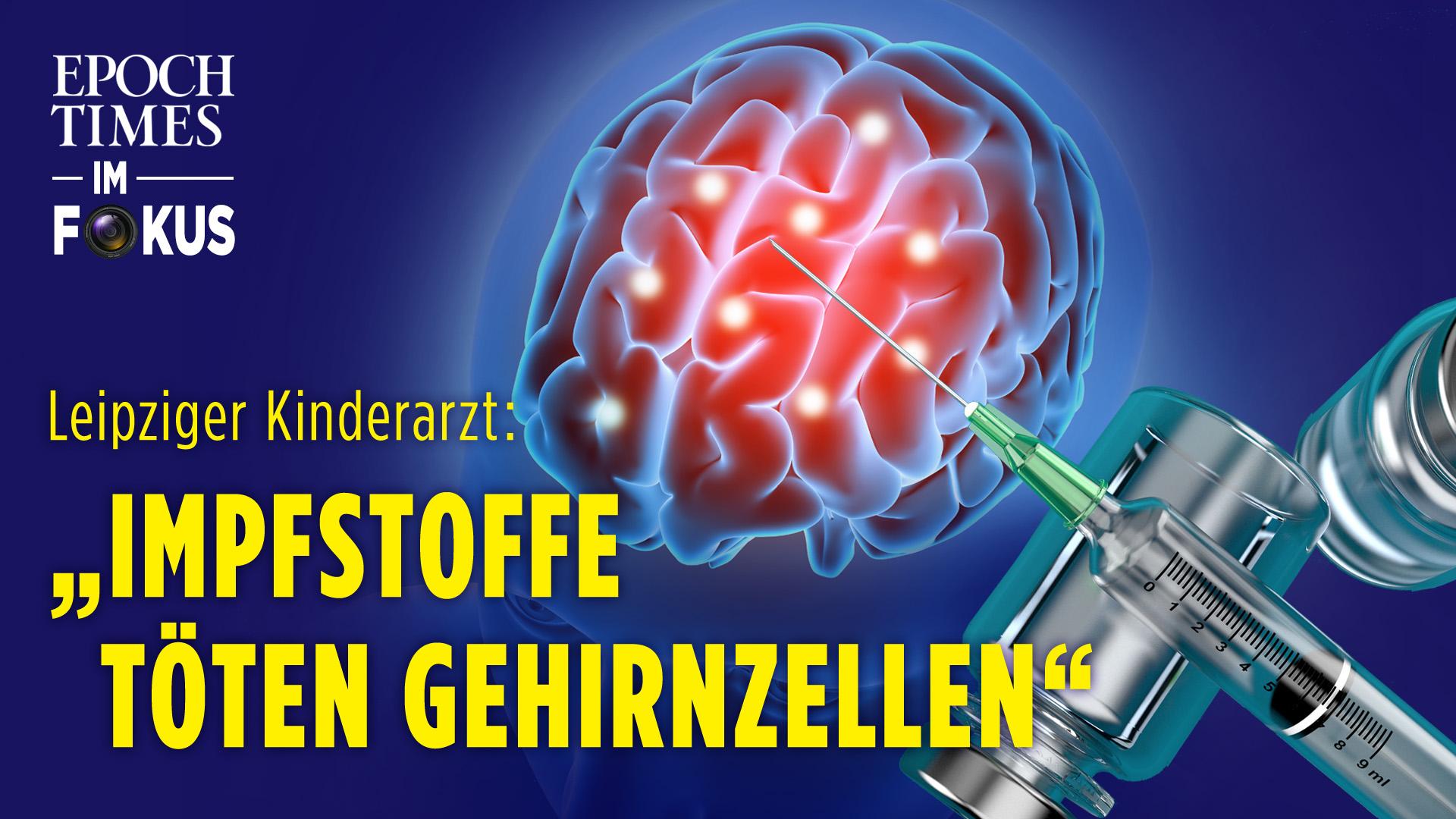 Leipziger Kinderarzt: Impfstoffe töten Gehirnzellen und Pharmaindustrie steuert Ärzte   ET im Fokus