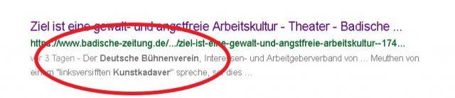 Fakenews um Meuthen. Foto: screenshot google