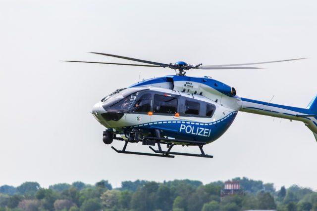 Polizeihubschrauber, Polizei, Hubschraubereinsatz
