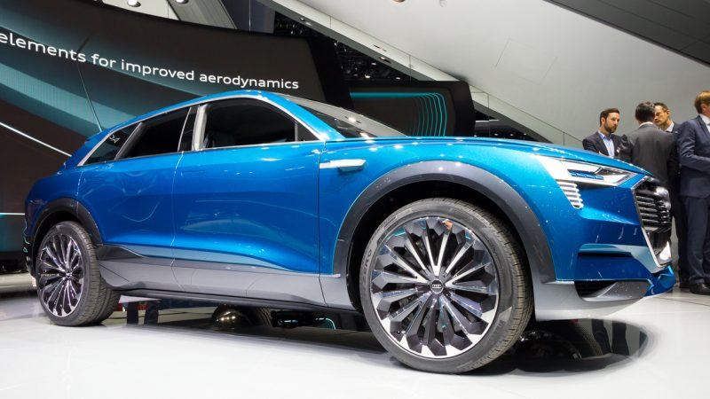 Audi e-tron auf der IAA.