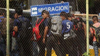 USA und EU zahlen: 85 Millionen Dollar für Mexiko und Zentralamerika zum Aufbau von Asylsystemen