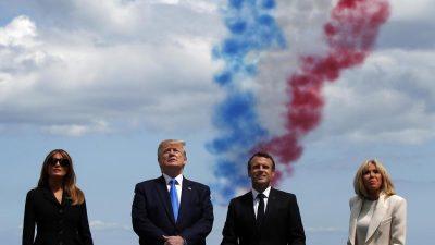 Gute und böse Militärparaden: Wie das ZDF bei Macron und Trump mit zweierlei Maß misst