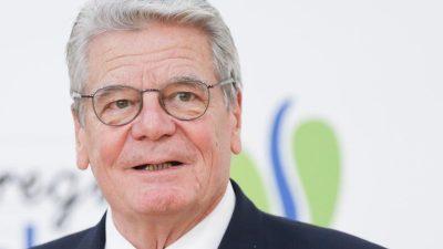 """Gaucks Rat an die CDU für """"mehr Toleranz in Richtung rechts"""" sorgt für hitzige Debatte"""
