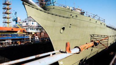 """Einigung über """"Gorch Fock"""" – am Freitag kann das Segelschulschiff aufs Wasser"""