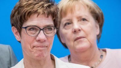 """Überraschende Eloge im """"Focus"""": """"Merkel und AKK belastbarer als ihre männliche Konkurrenz"""""""
