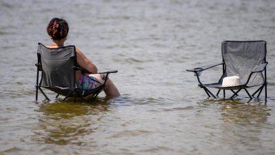 Mit 39,3 Grad neuer deutscher Temperaturrekord für Juni erreicht