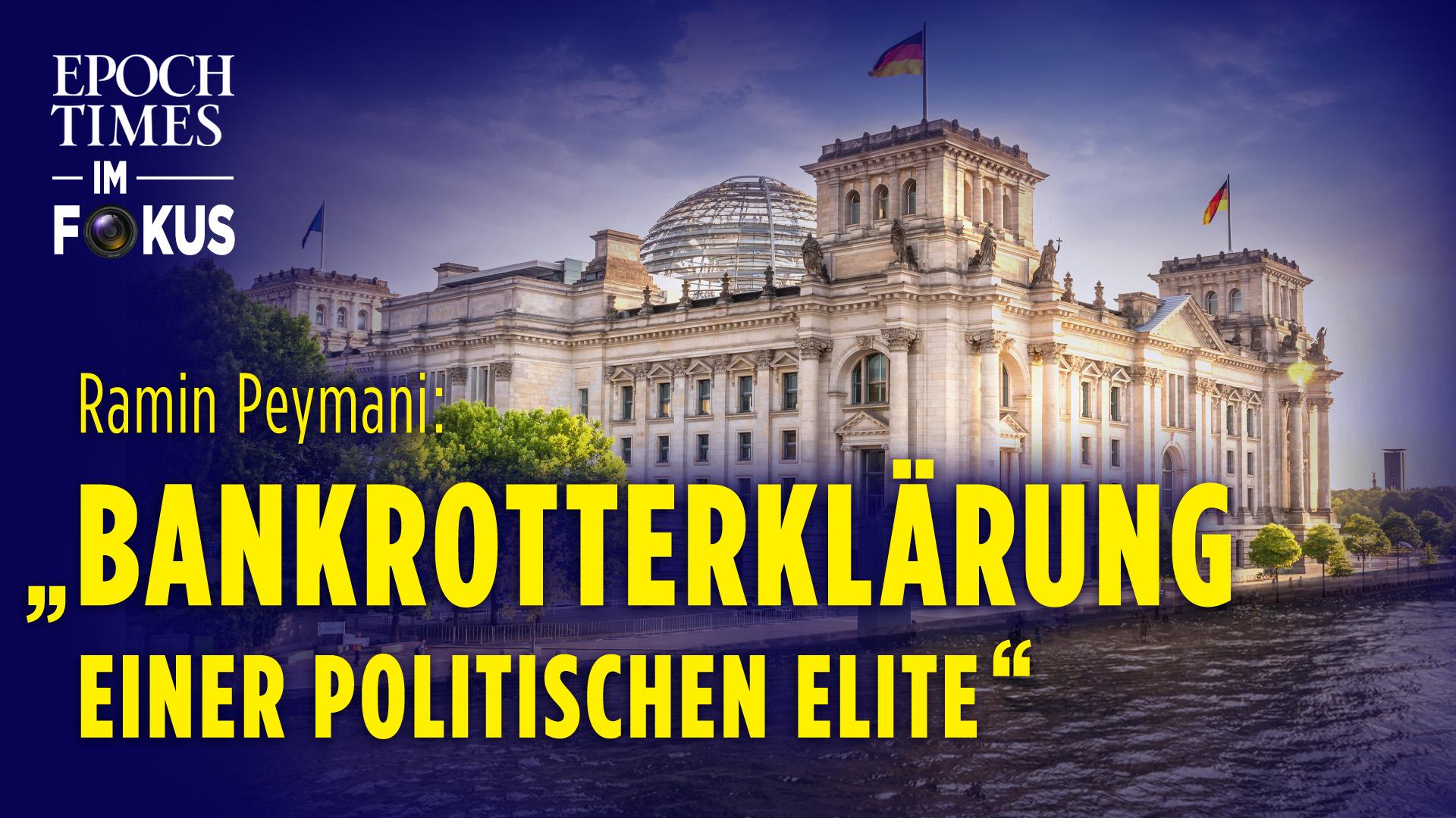 Die Festung Reichstag: Wie sich die Regierenden für die Folgen ihrer Politik rüsten   ET im Fokus