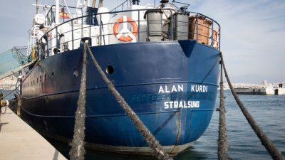 """Sea-Eye: """"Alan Kurdi"""" erneut von italienischer Küstenwache festgesetzt"""