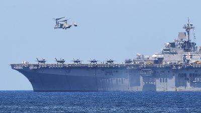 US-Marine-Kommandant: China greift internationale Ordnung an