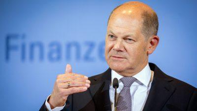 Olaf Scholz auf der Abschussliste: Finanzminister könnte erstes Opfer des SPD-Linksrucks werden