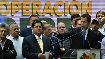 Venezuelas inhaftierter Vize-Parlamentspräsident Zambrano beendet Hungerstreik