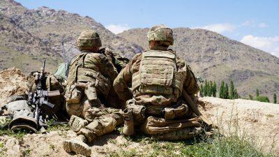 USA nehmen in Kürze Verhandlungen mit Taliban wieder auf