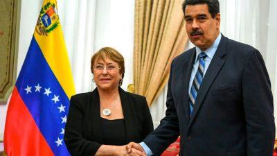 UN-Menschenrechtskommissarin wirft Maduro-Regime Folter und Hinrichtungen von Oppositionellen vor