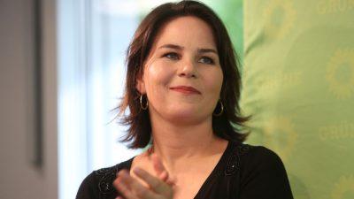 Grün ist die Wahrheit: Baerbock empfiehlt Presseboykott für Klimaskeptiker