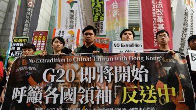 China steckt in der Zwickmühle: Hongkongs Proteste, die USA und Taiwan
