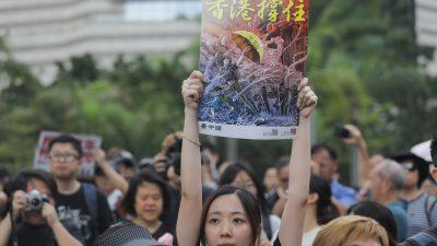"""""""Hongkong widersteht"""": Comiczeichner unterstützt Hongkonger Demonstranten mit seiner Kunst"""