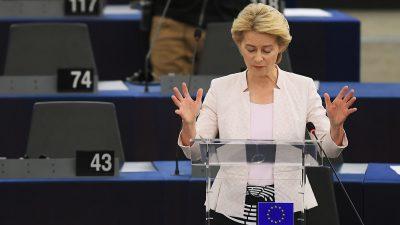 Häme im Netz: Von der Leyen verwechselt europäische Institutionen