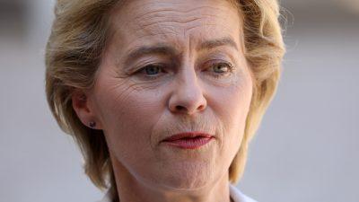 Berateraffäre: Grüne fordern Herausgabe von Leyens SMS-Kommunikation