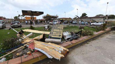 Drei Tote bei Tornado und Unwettern in Italien – Tennisballgroße Hagelkörner in der Steiermark
