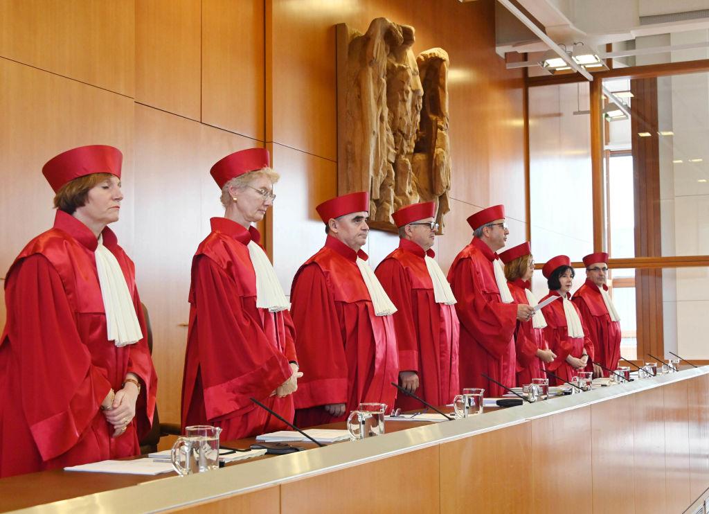 """""""Erhalt des Versammlungsrechts"""" gefordert: Anwälte demonstrieren vor Bundesverfassungsgericht"""
