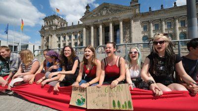 Fridays for Future bald im Bundestag? SPD, Grüne und Linke im Gespräch mit potenziellen Kandidaten