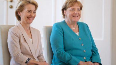 Von der Leyen ist die neue Merkel: Deutschlands Medien haben eine neue Hoffnungsträgerin