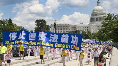 """US-Abgeordnete: Verfolgung von Falun Gong in China """"schreckliche und inakzeptable"""" Verletzung der Menschenrechte"""