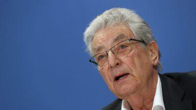Corona-Krise: Ex-Innenminister Baum fürchtet Beschneidung von Grundrechten