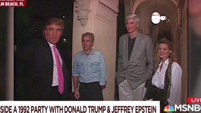 USA: Medien wollen mit 27 Jahre altem Video Verbindungen von Epstein zu Trump konstruieren