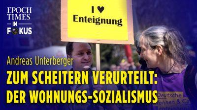Zum Scheitern verurteilt: der Wohnungs-Sozialismus – Kommentar von Andreas Unterberger | ET im Fokus