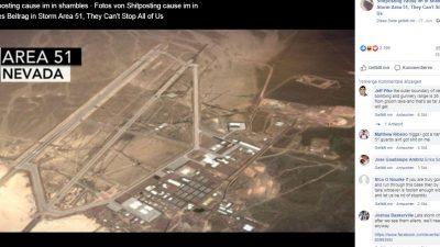 """Vom Facebook-Gag zur Gefahr? 1,5 Mio. wollten zur Erstürmung von Sperrgebiet """"Area 51"""" – Militär warnt vor Betreten"""