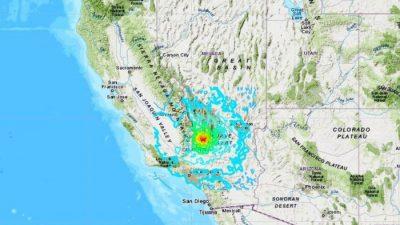 Schwerstes Erdbeben seit Jahrzehnten erschüttert Südkalifornien – Los Angeles und Las Vegas betroffen