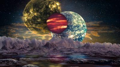 Forscherteam entdeckt Planetentrio mit möglicherweise bewohnbarer Welt