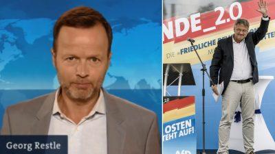 AfD-Bashing im WDR: Meuthen nennt Georg Restle & Co. totalitäre Schurken – Anonyme Morddrohung und Anzeige