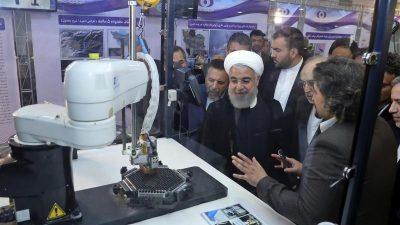 Iran hat Obergrenze seiner Uranvorräte überschritten