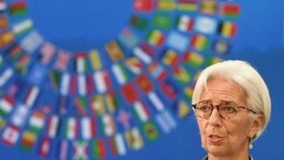 Bankenunion, Ökokalypse, Finanzkrise, Bargeld: Liebe Christine Lagarde, liebe Eurokraten