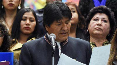 Bolivien: Ökosozialist Morales lässt Regenwald abfackeln – Europa aber schweigt
