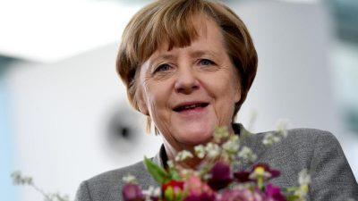 Merkel hat 65. Geburtstag und leitet ganz normal die Kabinettssitzung
