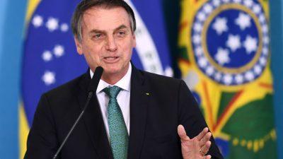 Bolsonaro erklärt deutsche Fördermittel für Waldschutz in Brasilien für verzichtbar