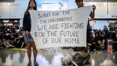 Hongkong ist zum globalen Symbol für den Widerstand gegen Chinas Tyrannei geworden