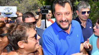 """""""Wer Italien regiert, entscheiden die Italiener"""": Italien wartet auf """"Showdown"""" in der Regierungskrise"""
