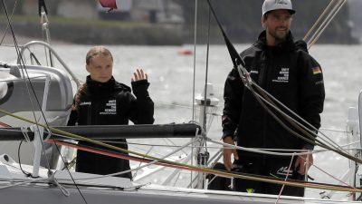 3.500 Seemeilen bis New York: Greta Thunberg auf dem Weg zum UN-Klimagipfel