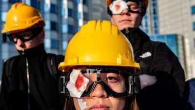 Wird Europa China bestrafen, falls Xi Hongkong zerquetscht?