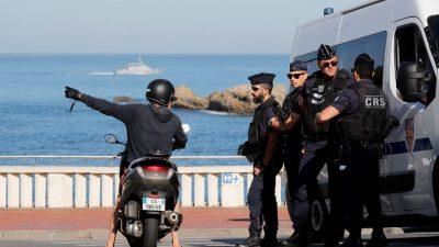 Biarritz: Chaos soll mit aller Macht verhindert werden – Erste Zusammenstöße zwischen G7-Gegnern und Polizei