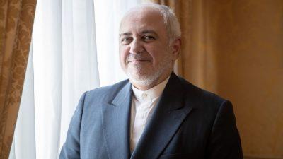 """Trump vor der Presse: """"Der Iran hat die Chance, eine sehr große Nation zu sein"""""""