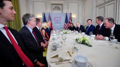 Trump will G7-Gipfel auf den Herbst verschieben und um weitere Teilnehmer erweitern