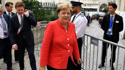 """Merkel: Treffen mit Sarif """"kein G7-Ereignis"""" – Iran darf keine nuklearen Waffen bekommen"""