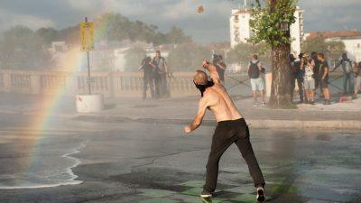 Biarritz: Tränengas und Wasserwerfer gegen G7-Gegner – 68 Demonstranten festgenommen