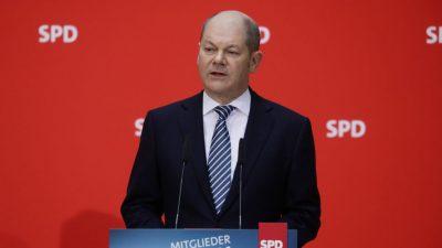 """Zweifel an Erfolgschancen für Scholz: """"SPD sagt Wählern nur die halbe Wahrheit"""""""